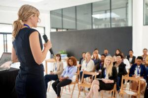 Spreekangst overwinnen en met plezier presenteren
